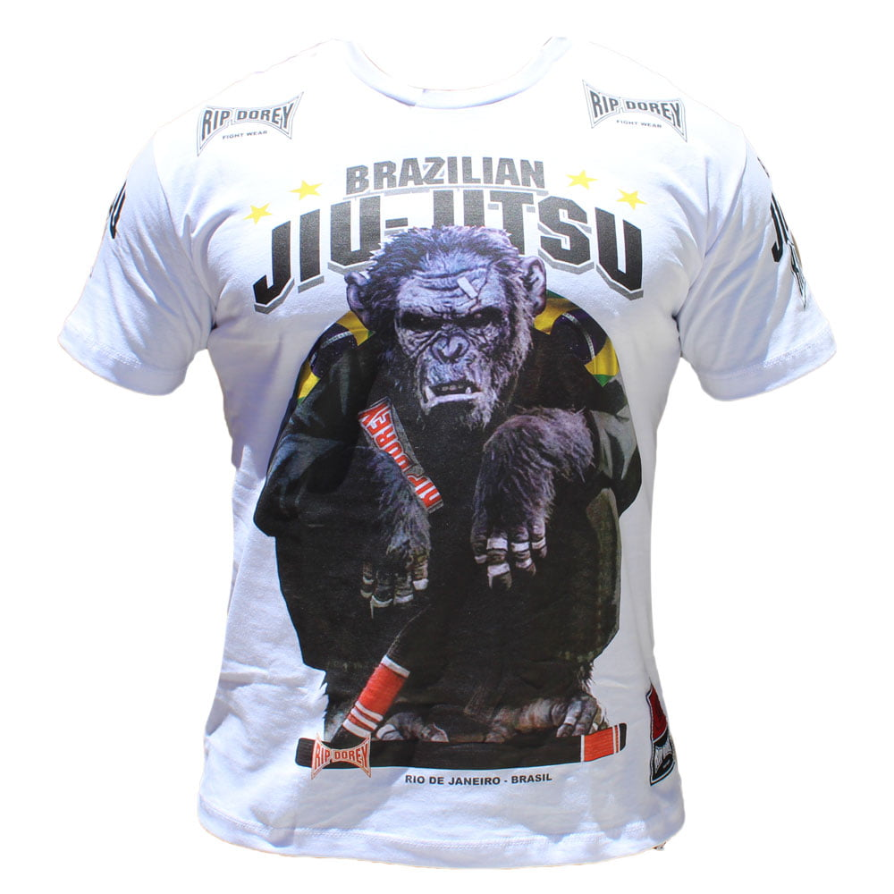 Camiseta Kong Black Belt Branca