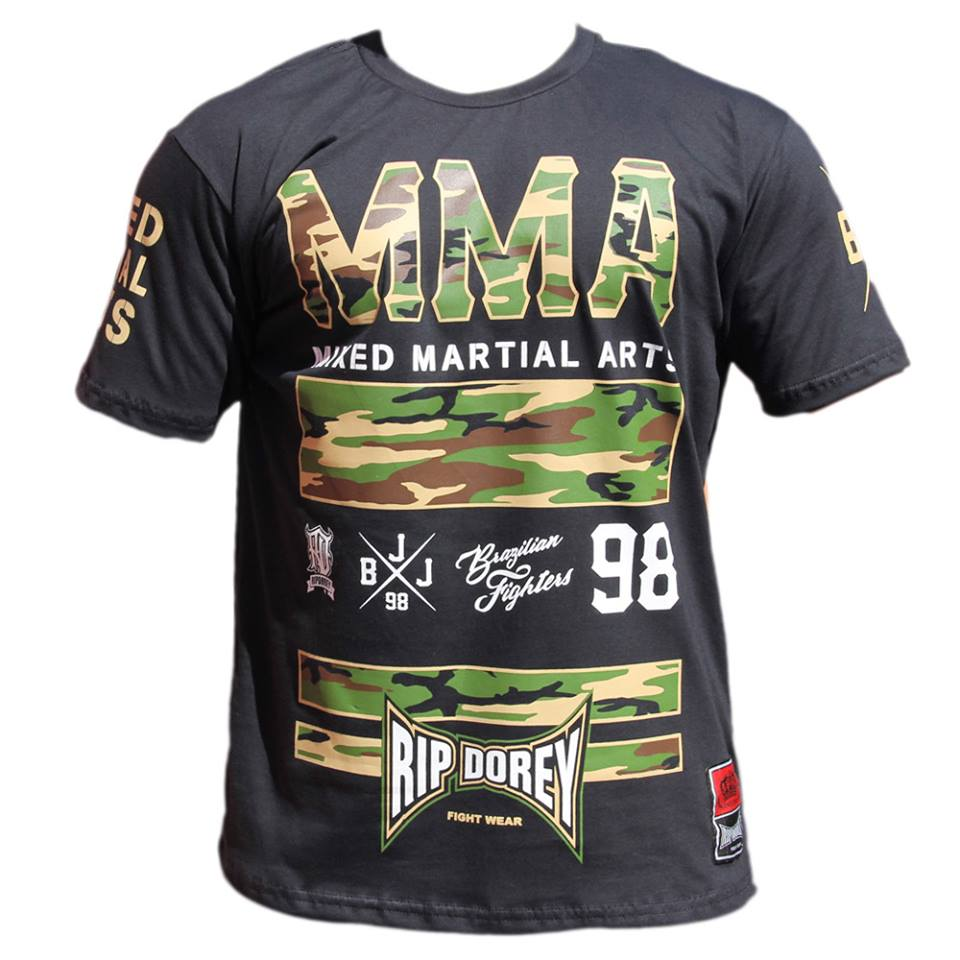 Camiseta Manga Curta Brazilian MMA