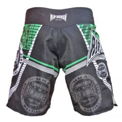 Short de Treino Fighter Verde e Preto