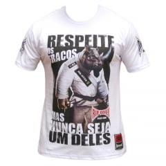 Camiseta Feras Manga Curta Brazilian Jiu-Jitsu Rhino