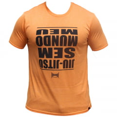 Camiseta Dry Meu Mundo Sem Jiu-Jitsu