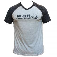 Camiseta Especial Manga Curta Ragland Jiu-Jitsu