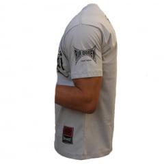 Camiseta Manga Curta MuayThai CInza