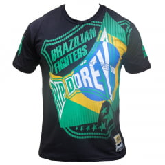 Camiseta Manga Curta Brazilian Fighters