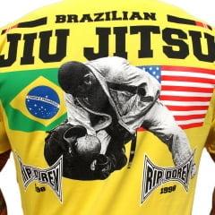 Camiseta Manga Curta  Finalização jiu-jitsu