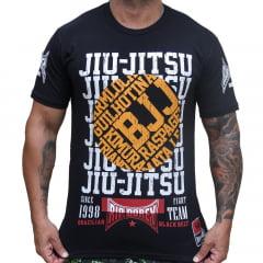 Camiseta Manga Curta Jiu-Jitsu Positions