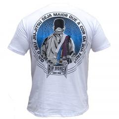 Camiseta Manga Curta Que o seu Jiu-Jitsu seja maior
