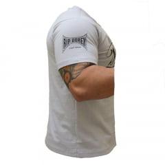 Kit Promocional Camiseta Muay Thai e Calça Moletom CInza