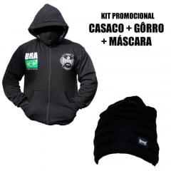 Kit Promocional Casaco + Gorro + Máscara Ripdorey 2020