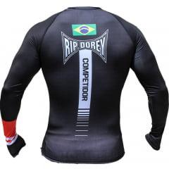 Camisa Rashguard Brazilian Black Belt